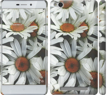 Чехол на Xiaomi Redmi 3 Ромашки v2
