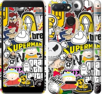 Чехол на Xiaomi Redmi 6 Popular logos
