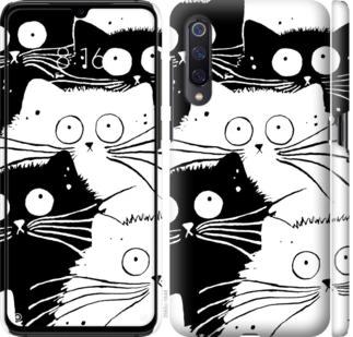 Чехол на Xiaomi Mi A3 Коты v2