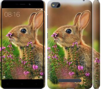 Чехол на Xiaomi RedMi 4A Кролик и цветы