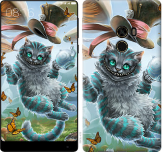Чехол на Xiaomi Mi MiX Чеширский кот 2