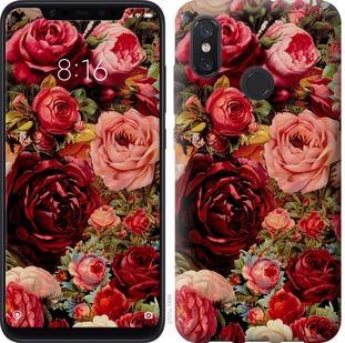 Чехол на Xiaomi Mi8 Цветущие розы