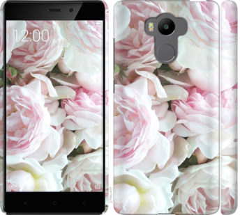Чехол на Xiaomi Redmi 4 pro Пионы v2