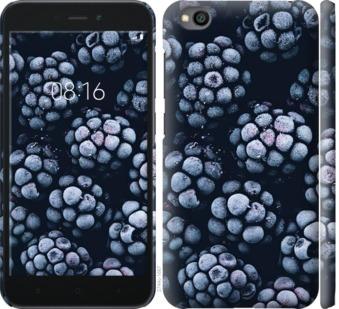 Чехол на Xiaomi Redmi Go Морозная ежевика