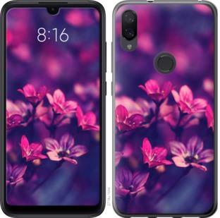 Чехол на Xiaomi Mi Play Пурпурные цветы