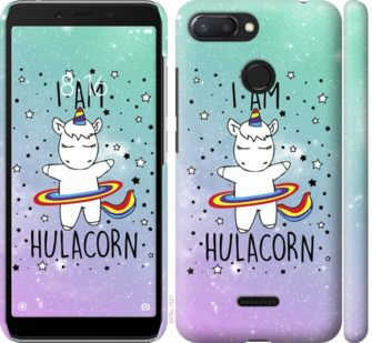 Чехол на Xiaomi Redmi 6 Im hulacorn
