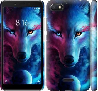 Чехол на Xiaomi Redmi 6A Арт-волк