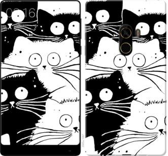 Чехол на Xiaomi Mi MiX 2 Коты v2
