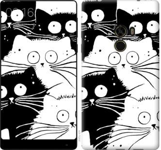 Чехол на Xiaomi Mi MiX Коты v2