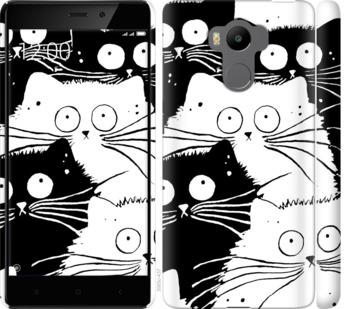 Чехол на Xiaomi Redmi 4 pro Коты v2