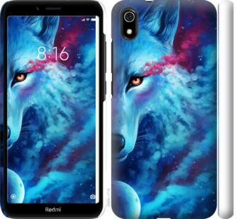 Чехол на Xiaomi Redmi 7A Арт-волк