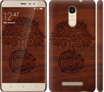 Чехол на Xiaomi Redmi Note 3 Узор дерева