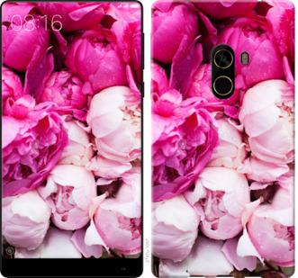 Чехол на Xiaomi Mi MiX 2 Розовые пионы