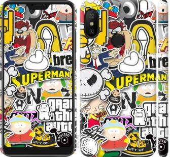 Чехол на Xiaomi Redmi 6 Pro Popular logos