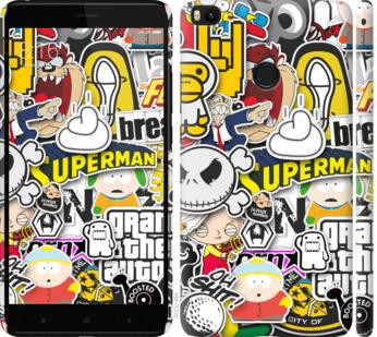 Чехол на Xiaomi Mi Max 2 Popular logos