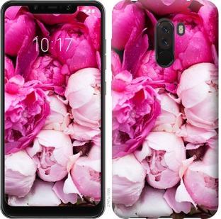 Чехол на Xiaomi Pocophone F1 Розовые пионы