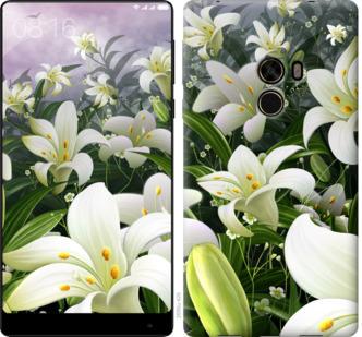 Чехол на Xiaomi Mi MiX Белые лилии