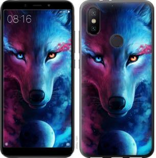 Чехол на Xiaomi Mi A2 Арт-волк