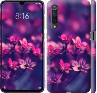 Чехол на Xiaomi Mi A3 Пурпурные цветы