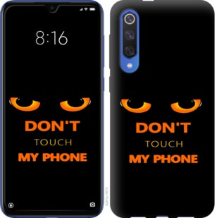 Чехол на Xiaomi Mi 9 SE Dont touch the phone