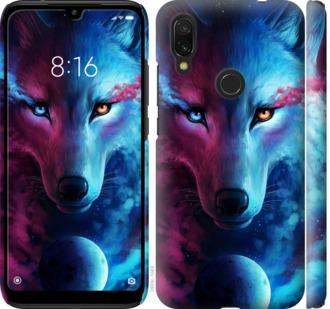 Чехол на Xiaomi Redmi 7 Арт-волк