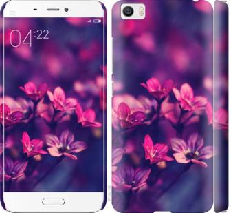 Чехол на Xiaomi Mi5 Пурпурные цветы
