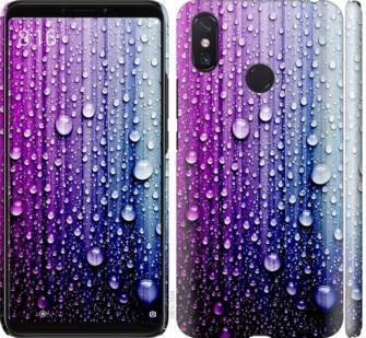 Чехол на Xiaomi Mi Max 3 Капли воды