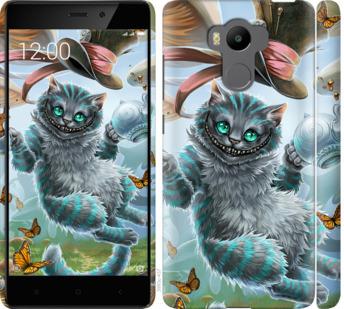 Чехол на Xiaomi Redmi 4 pro Чеширский кот 2