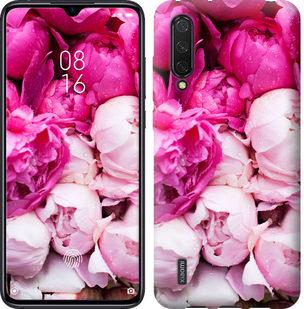 Чехол на Xiaomi Mi CC9 Розовые пионы
