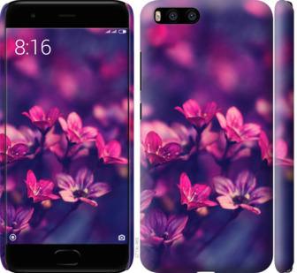 Чехол на Xiaomi Mi6 Пурпурные цветы
