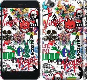 Чехол на Xiaomi Redmi Go Many different logos