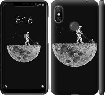Чехол на Xiaomi Redmi Note 6 Pro Moon in dark