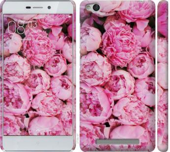 Чехол на Xiaomi Redmi 3 Пионы v3