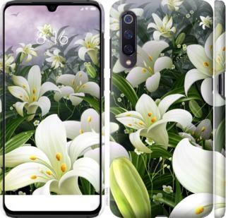 Чехол на Xiaomi Mi A3 Белые лилии