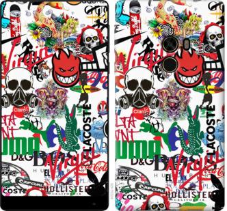 Чехол на Xiaomi Mi MiX Many different logos