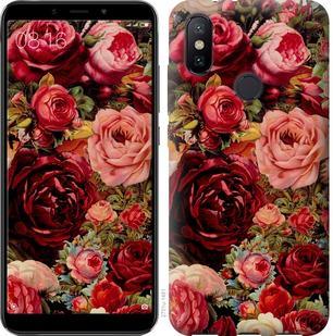 Чехол на Xiaomi Mi A2 Цветущие розы
