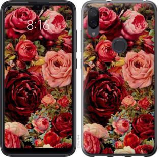 Чехол на Xiaomi Mi Play Цветущие розы
