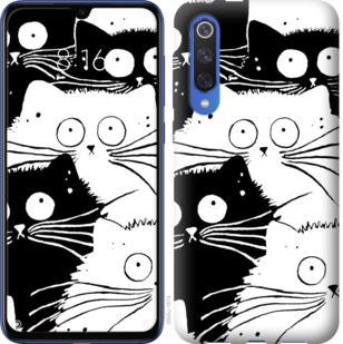 Чехол на Xiaomi Mi 9 SE Коты v2