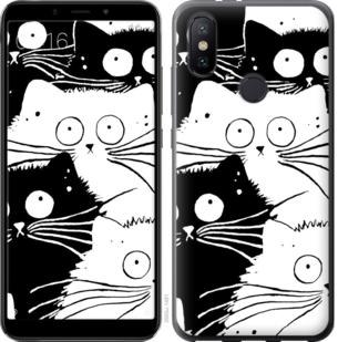 Чехол на Xiaomi Mi A2 Коты v2