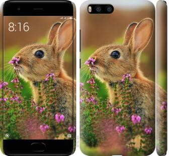 Чехол на Xiaomi Mi6 Кролик и цветы