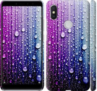Чехол на Xiaomi Redmi S2 Капли воды