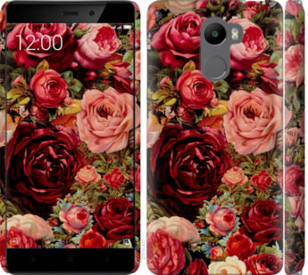 Чехол на Xiaomi Redmi 4 Цветущие розы