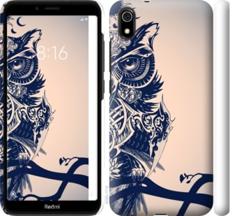 Чехол на Xiaomi Redmi 7A Узорчатая сова