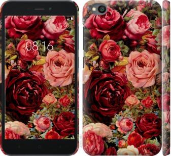 Чехол на Xiaomi Redmi Go Цветущие розы