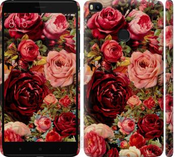 Чехол на Xiaomi Mi Max 2 Цветущие розы
