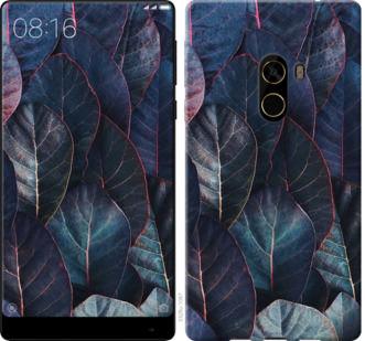 Чехол на Xiaomi Mi MiX 2 Листья v3