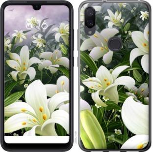 Чехол на Xiaomi Mi Play Белые лилии