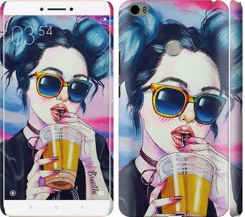 Чехол на Xiaomi Mi Max Арт-девушка в очках