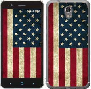 Чехол на ZTE A510 Флаг США