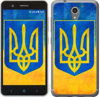 Чехол на ZTE A510 Герб Украины